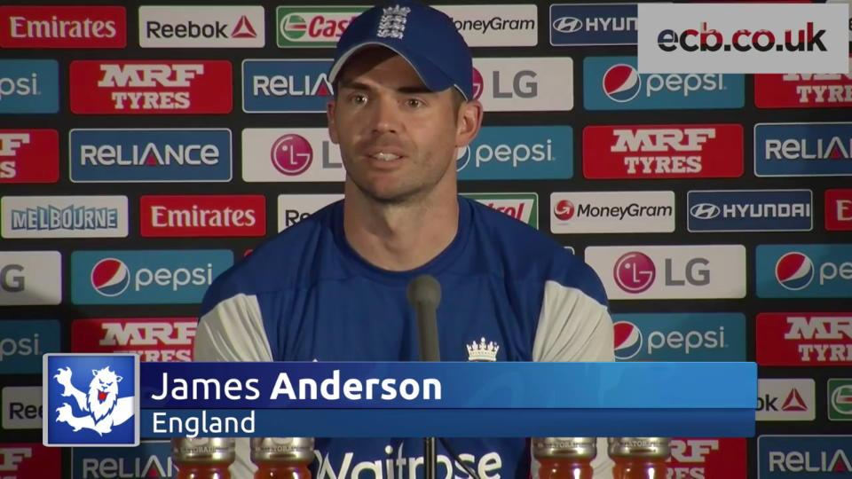 'Every cricketer wants to play in a match like this' - James Anderson