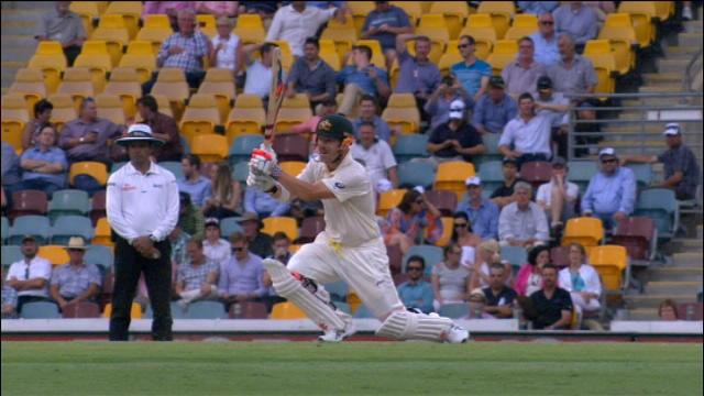 1st Ashes Test, Brisbane – Day 2 Evening