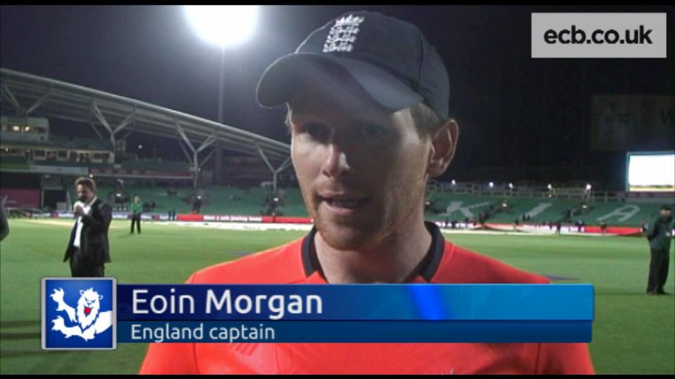 Morgan disappointed with T20 loss