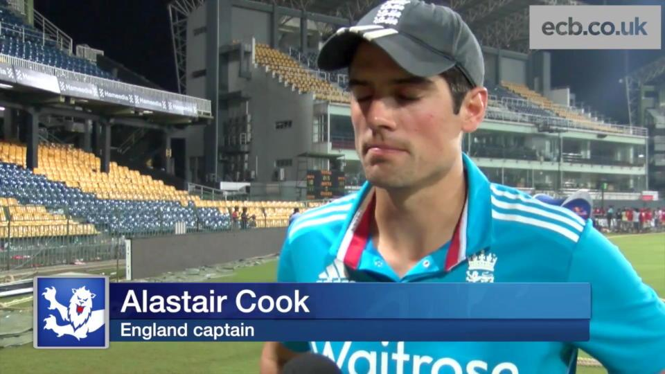 Alastair Cook on England's loss to Sri Lanka - hosts take ODI series 5-2