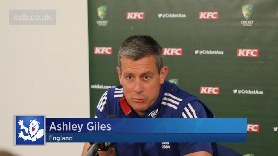 Giles on England job