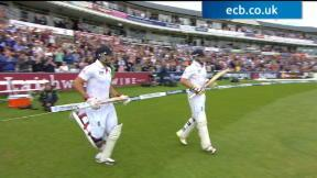 England v Australia - 4th Investec Ashes Test highlights, Day 4 AM