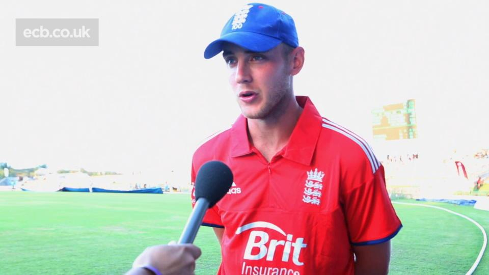 Broad gutted by 15 run loss