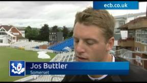 Buttler delivers Somerset report