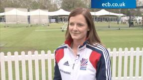 GB Women's Hockey squad visit Lord's
