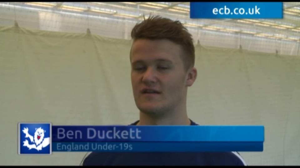 Duckett excited about U19 World Cup
