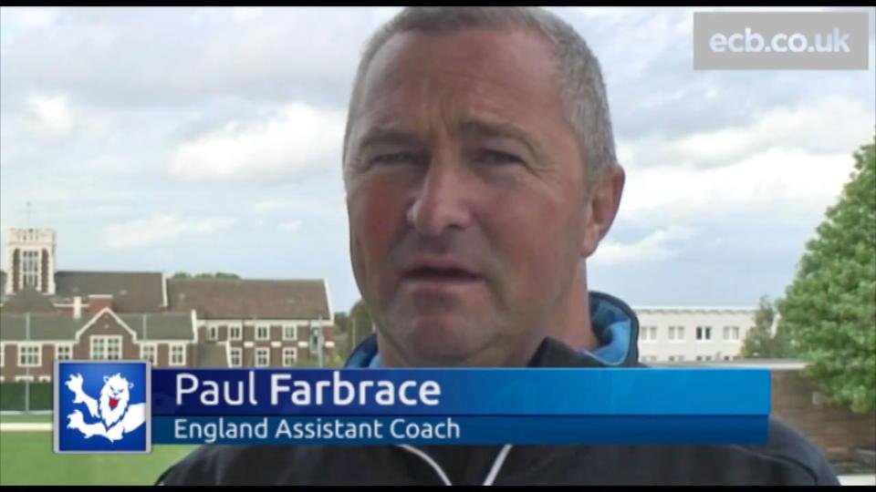 Farbrace says England chance was too good to turn down