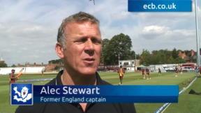 Alec Stewart exclusive