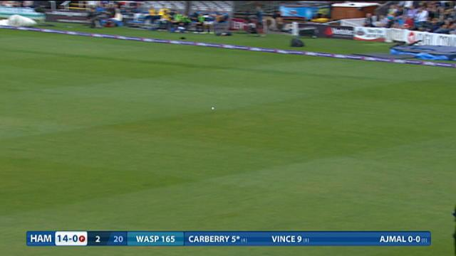 Worcestershire v Hampshire - NatWest T20 Blast, Hampshire Innings
