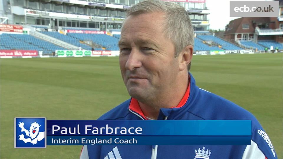 We had opportunities - Farbrace