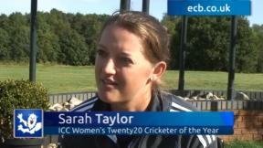 Taylor proud of ICC award