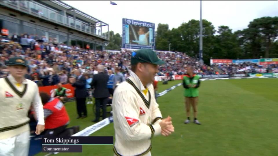 Ashes highlights - Cardiff Day 1