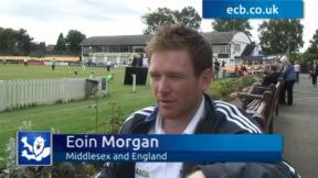 Eoin Morgan exclusive
