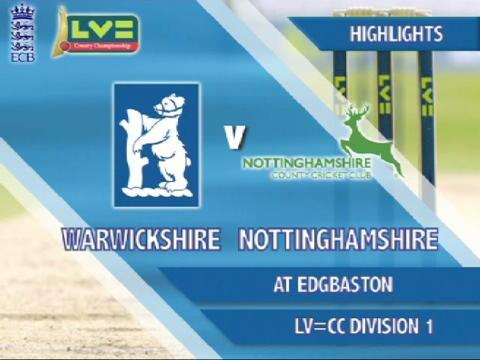 20 July - Warks v Notts - Day 1