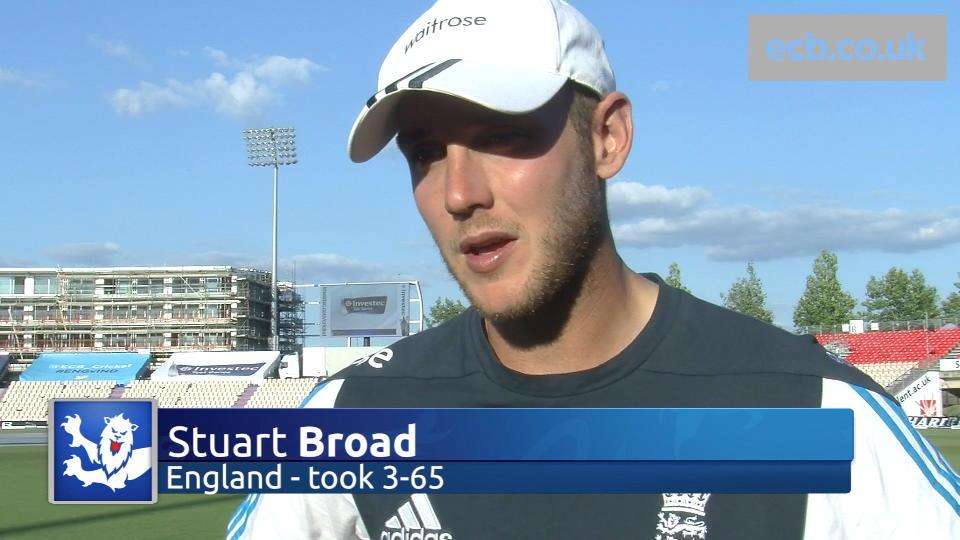 Broad tells England to dominate day four