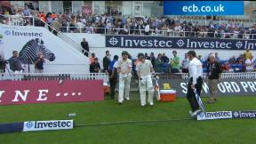 England v Australia - 5th Investec Ashes Test highlights, Day 2 Evening