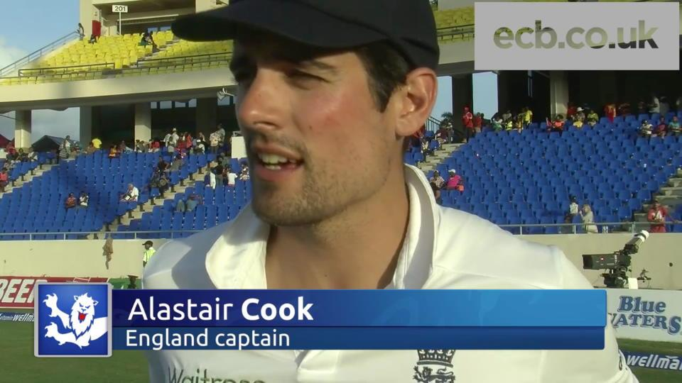 Cook on draw and Anderson