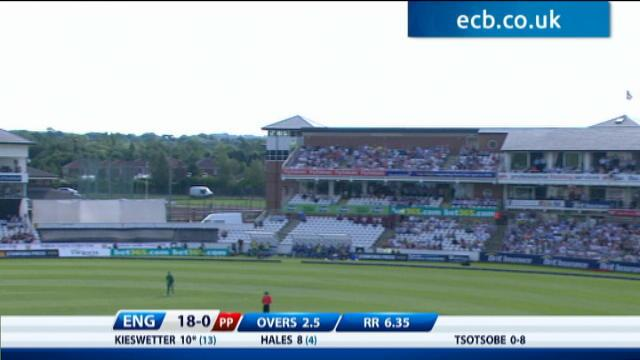 1st NatWest T20 - England innings