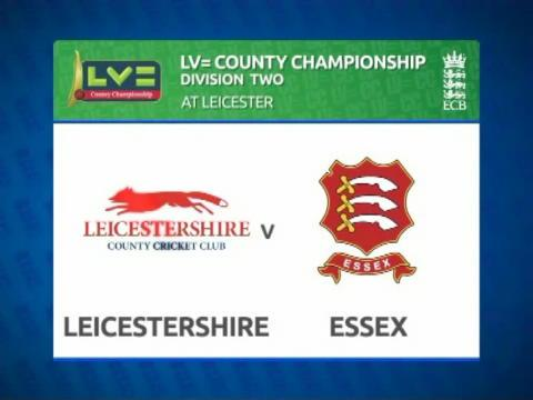 Leicestershire v Essex - Day 1