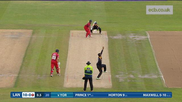 Lancashire v Yorkshire - Natwest T20 Blast - Lancashire Innings