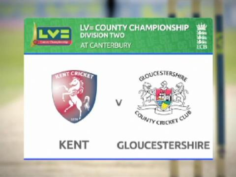 Kent v Gloucestershire - Day 3