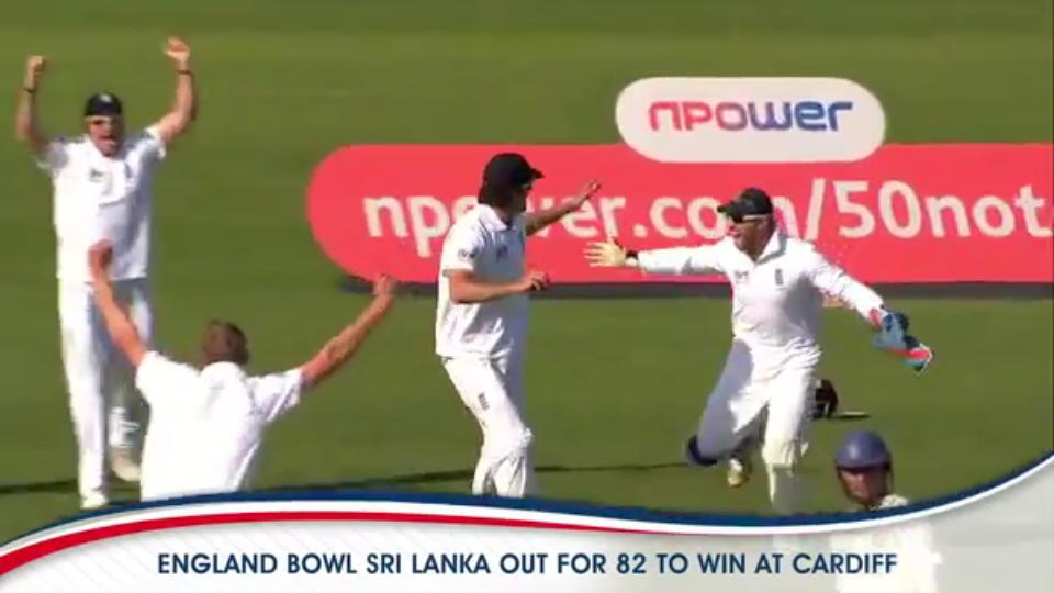 England v Sri Lanka 2011 - The best Test moments