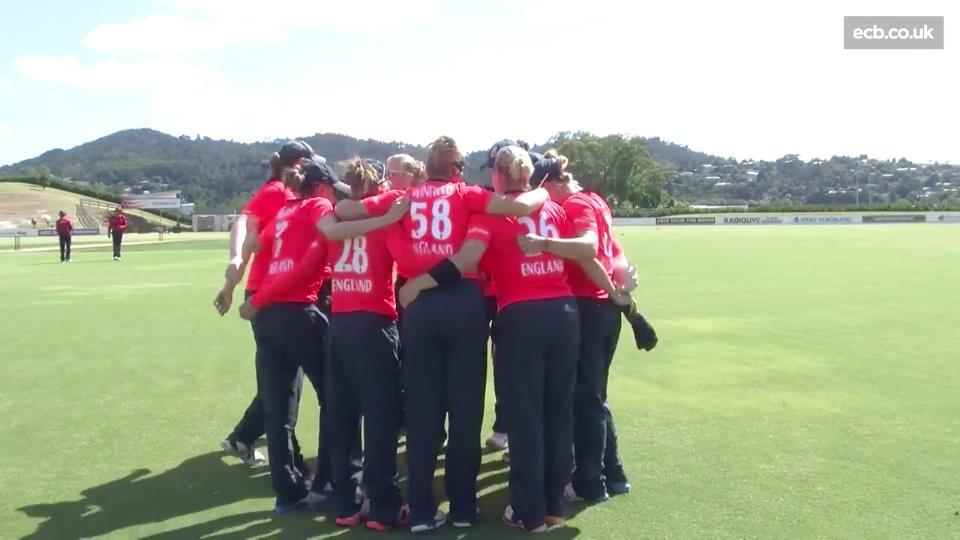 Highlights from England Women v White Ferns 1st T20
