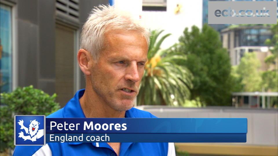 Peter Moores on Australia defeat