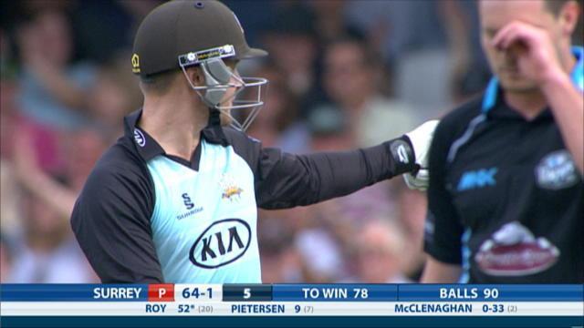 Surrey v Worcestershire - Natwest T20 Blast, Surrey innings