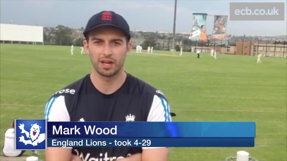 Mark Wood pleased after taking 4-29 for England Lions