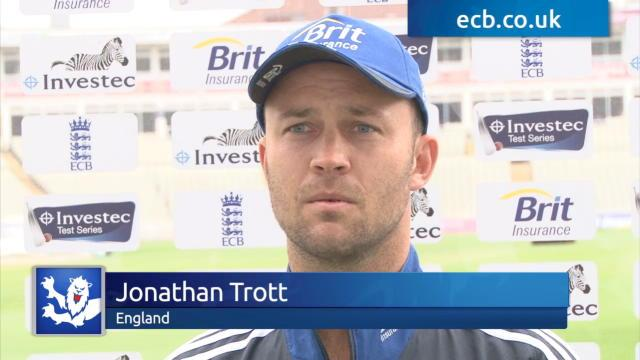 Trott wants whitewash