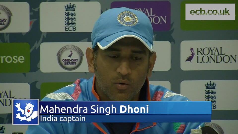 MS Dhoni urges India to bounce back