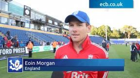 Morgan thrilled with Cardiff victory