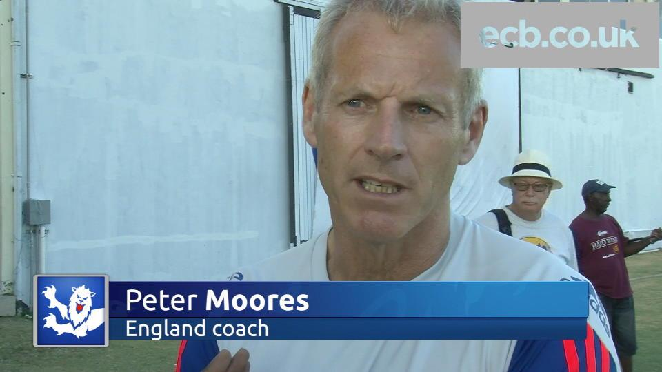 England are ready - Moores