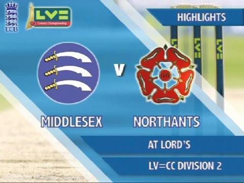 7 June - Middlesex v Northants - Day 4: Big win for visitors at Lord's