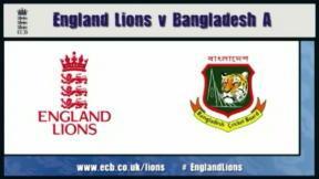 England Lions v Bangladesh A - Bristol highlights
