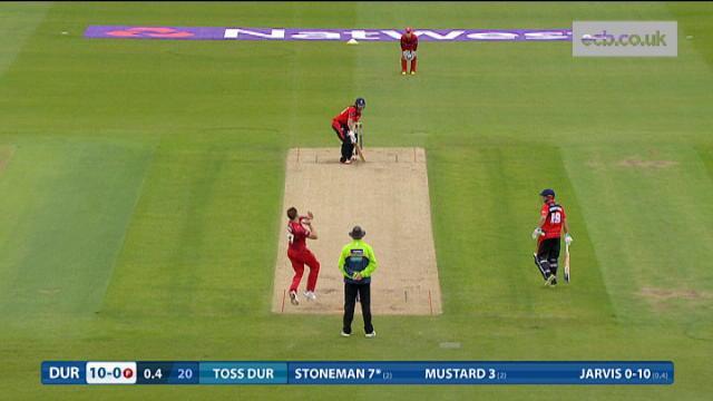 Durham v Lancashire - Natwest T20 Blast, Durham Innings