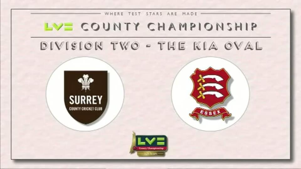 Surrey v Essex - Day 1