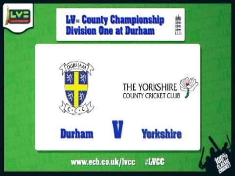 Durham v Yorkshire - Day 1 - Bresnan back with a bang