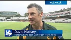 Hussey toasts Lord's victory