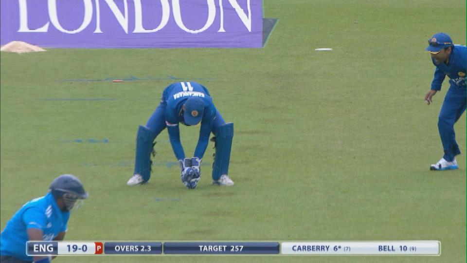 England v Sri Lanka - 2nd ODI - England innings
