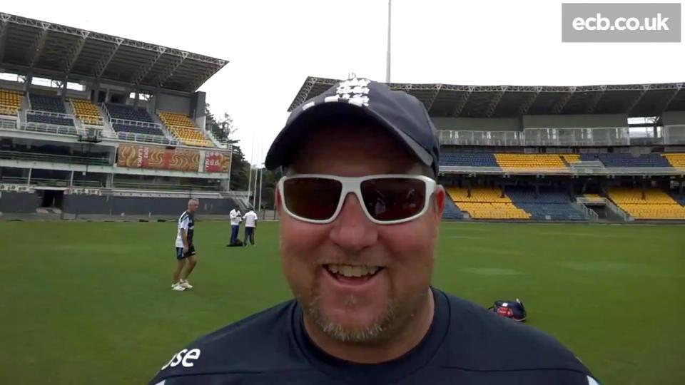 Inside England training with Google Glass