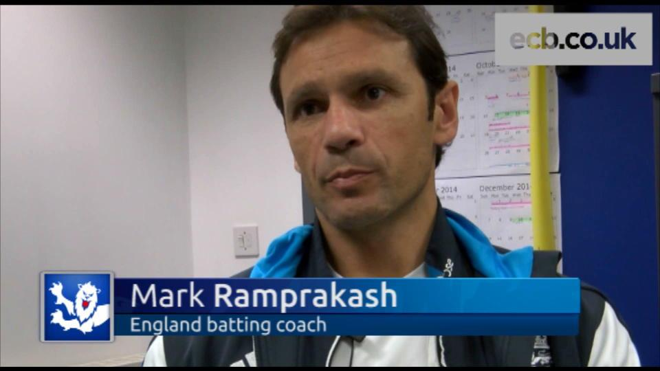 Ramprakash on new role