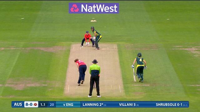 England v Australia -Women's Ashes Natwest T20