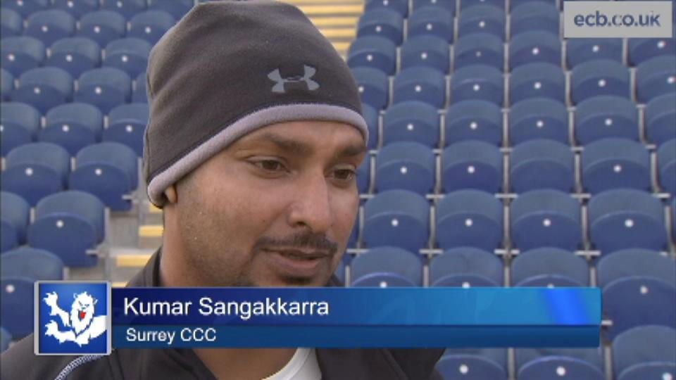 Sangakkara on dream start
