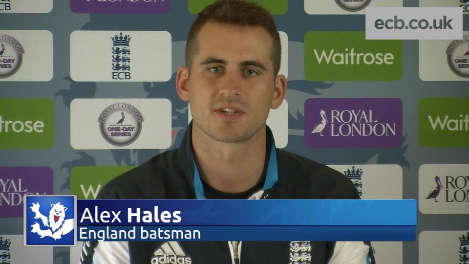 Debut was a dream for Hales