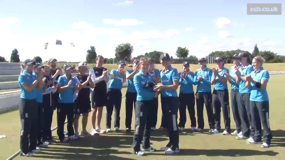 Highlights from NZ Women v England Women, 1st ODI, Bay Oval