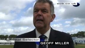 Miller names Test squad