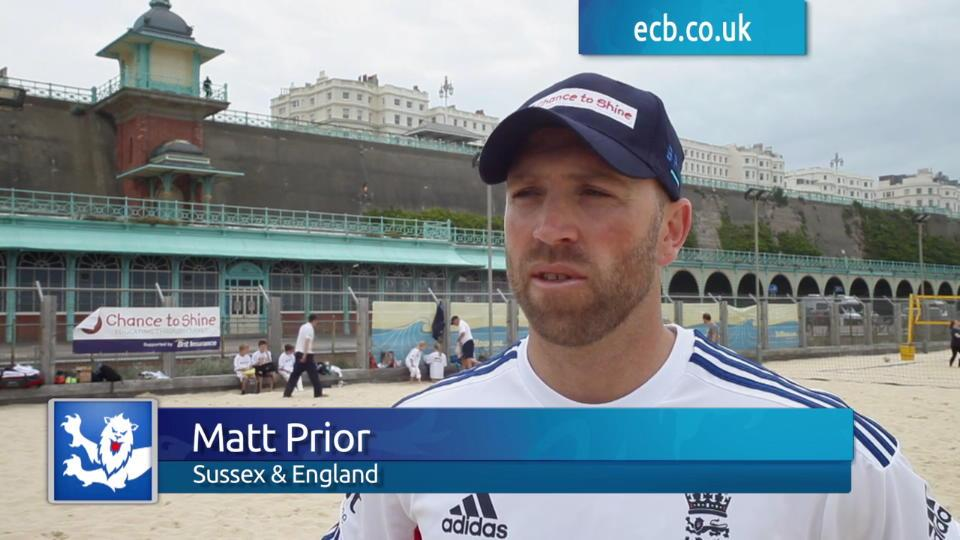 England stars support Brit National Cricket Day