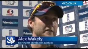 Northants show steely resolve